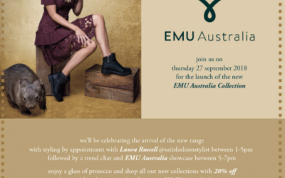 Personal Shopping at Ooh! Ruby Shoes with Emu Australia Thursday 27th September 2018